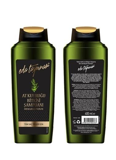 Eda Taşpınar EDA TAŞPINAR At Kuyruğu Bitkisi Şampuanı 400 ml Renksiz